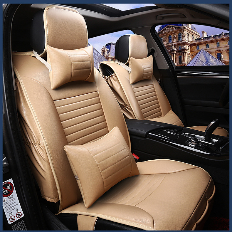 car seat covers for SEAT LEON Ibiza EXEO firm brand soft pu leather Front & Rear full seat covers waterproof easy clean(China (Mainland))