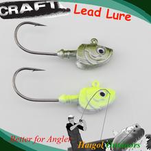 Soft lure head jig head –2 pcs 30 g jig head 5/0 hook soft fishing lure