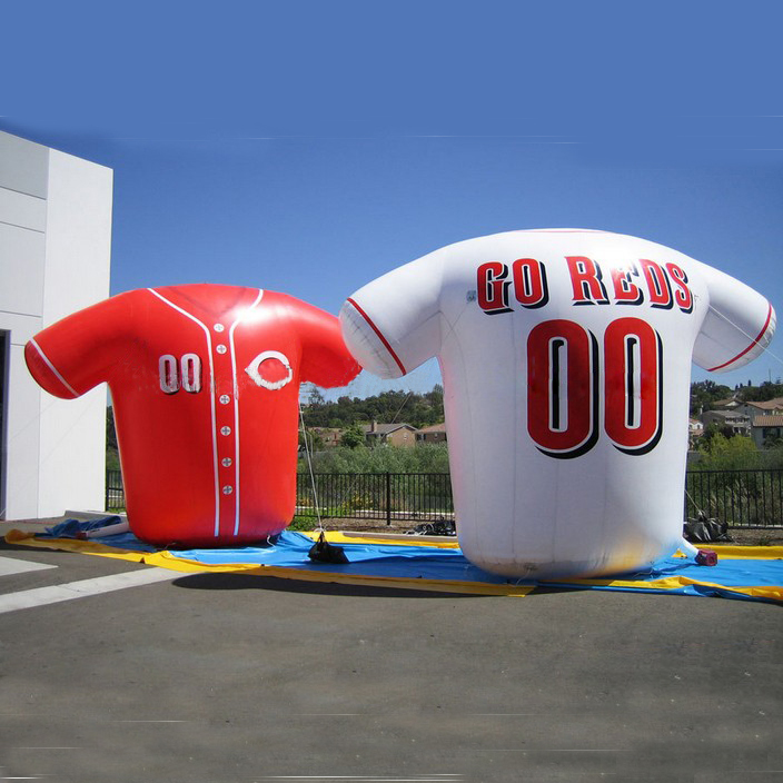 Giant Novelty Inflatable Sports Shirt /Inflatable Football Shirt for Advertising/Promption(China (Mainland))