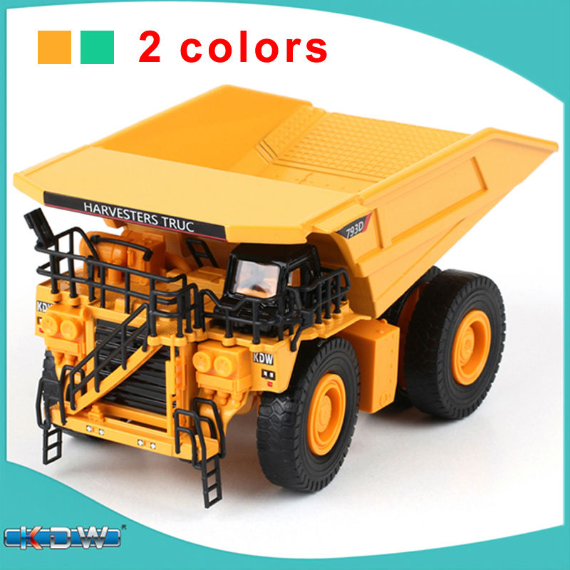 Alloy engineering car model truck mine car large mechanical metal dump truck kid boy toys gift collection(China (Mainland))