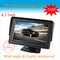 4 3 TFT LCD Car reverse RearView Color Car Monitor Digital Car Rearview Camera free shipping