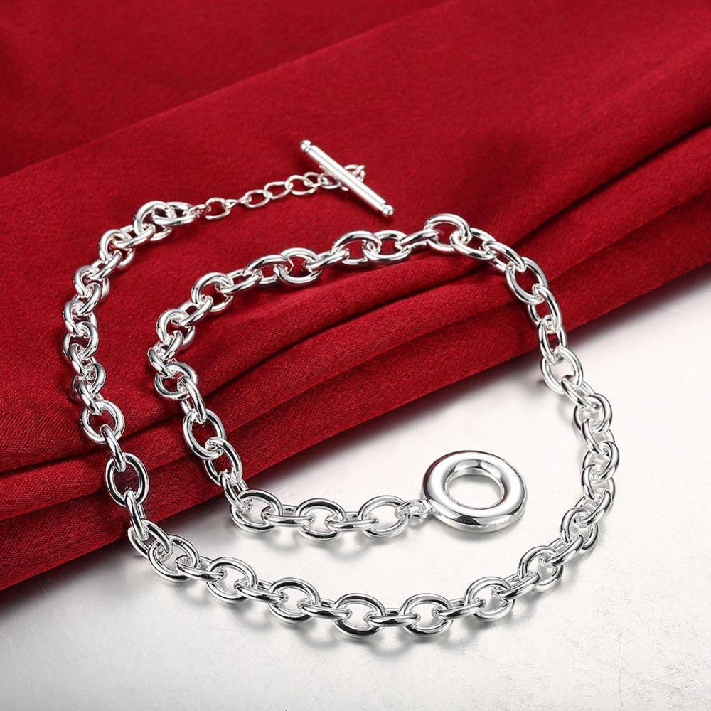 Серебряная цепочка в подарок 176