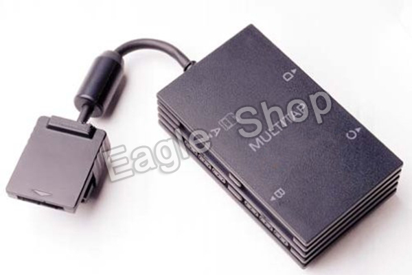 Free Shipping for PS2 4 Player Multitap For PlayStation 2 for PS2 Game Adapter(China (Mainland))