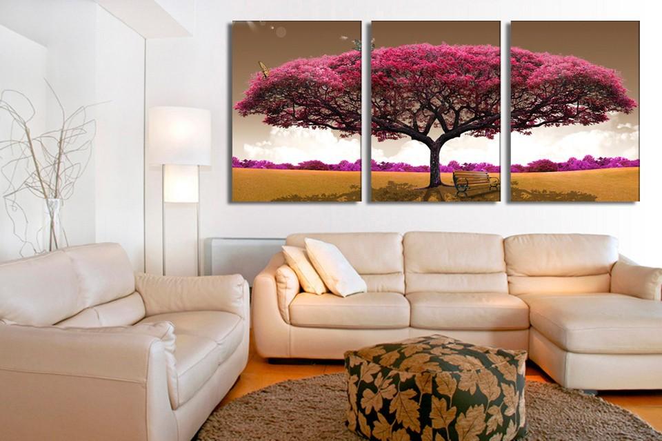 Online kopen wholesale roze schilderen uit china roze schilderen groothandel - Schilderij romantische kamer ...