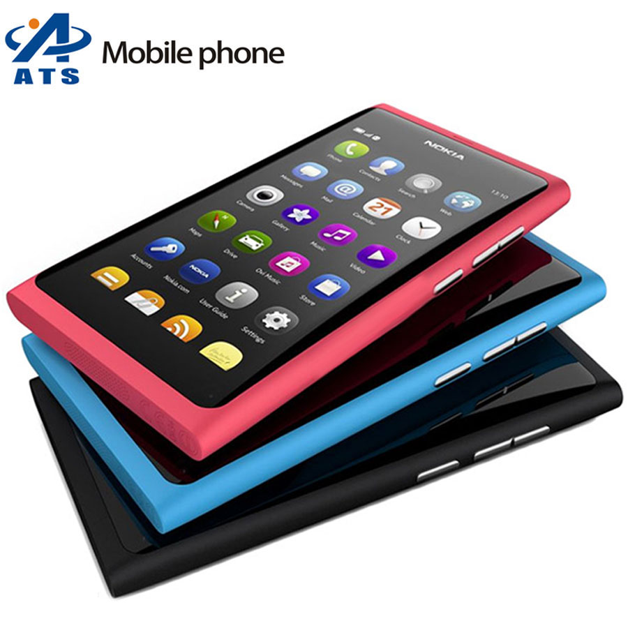 Original Unlocked Nokia N9 Mobile Phone 3G GPS WIFI 8MP 16GB Storage cell phone One Year Warranty(China (Mainland))