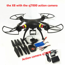 Buy Syma X8W/X8C/X8 FPV Drone Camera 12MP FHD drones camera hd 6Axis dron Quadcopter RC Helicopter Fit SJ7000 quadrocopter for $129.75 in AliExpress store