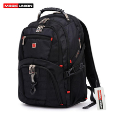 MAGIC UNION Oxford Men Laptop Backpack Mochila Masculina 15 Inch Man's Backpacks Men's Luggage & Travel bags Wholesale(China (Mainland))