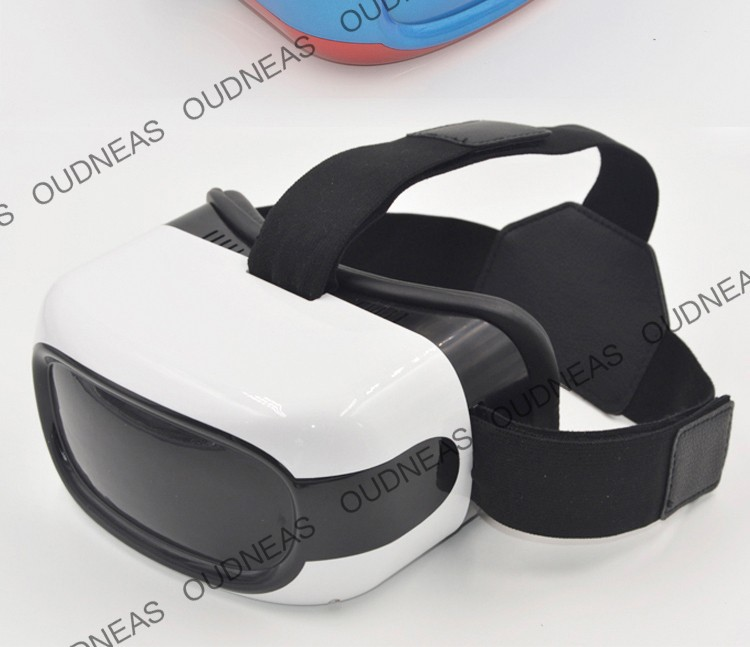 Newest 3D VR Virtual Reality All-in-One VR Glasses Android5.1 Quad Core 1G RAM/8G ROM 720p HD All in one 3D Glasses In stock