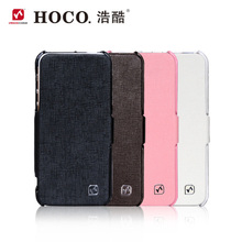 For Iphone 5 5S 100% Original HOCO Brand Baron Series Leather Case phone Cover Free Shipping Discount Price Luxury Flip Fashion(China (Mainland))