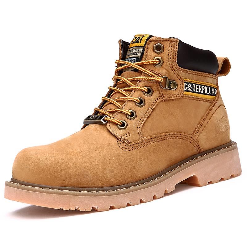 new 2015 handmade boots hiking genuine leather winter