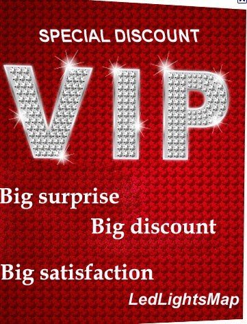VIP Card for LedLightsMap  lighting