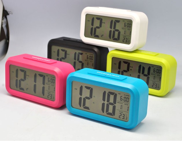 Alarm Clock Cute Luminous Led Electronic Clock Small Alarm ...
