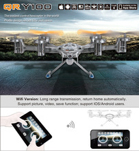 Walkera QR Y100 FPV Wifi Real Time Video RC Quadcopter Drone Helicopter Aircraft UFO with Camera Brushless Motor GPS IOC 6-Axis