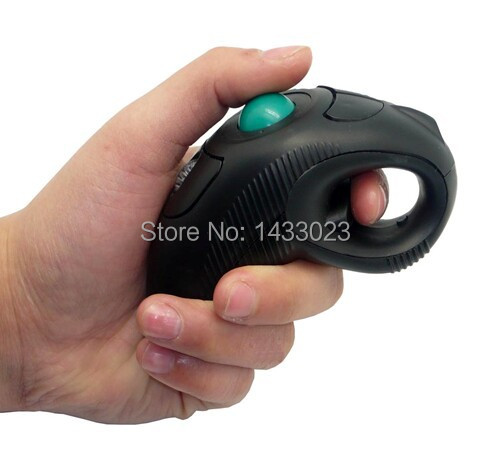 1pcs/lot new product Y - 10 w both general wireless trackball mouse Free shipping(China (Mainland))