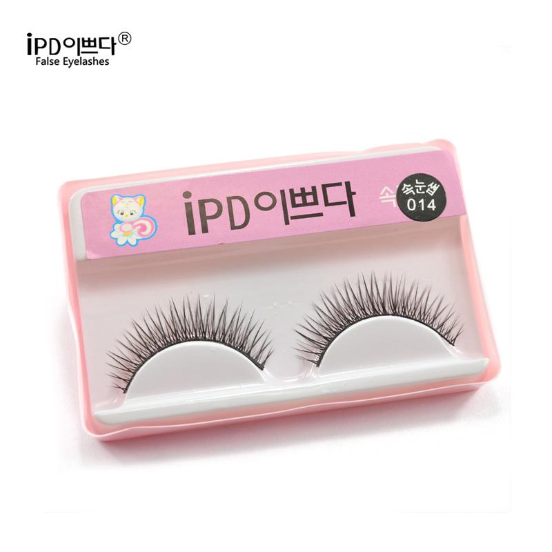 10 Pairs False Eyelashes Natural Fake Eyelashes Black False Eyelashes Eyelash Thick Eye Lashes Extension Band Makeup IPD 014(China (Mainland))