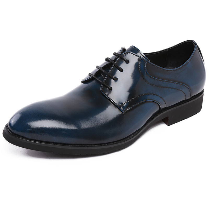 navy blue dress shoes mens dress on sale