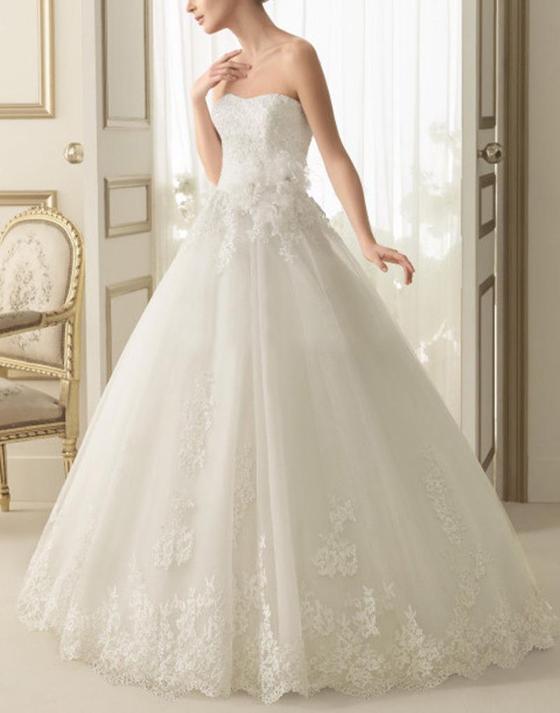 Unique wedding dresses long train plus size white fairy for Stylish wedding dresses