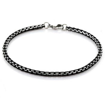 316L нержавеющая сталь браслет мужчины ювелирные изделия никогда не увядает 21 см ...