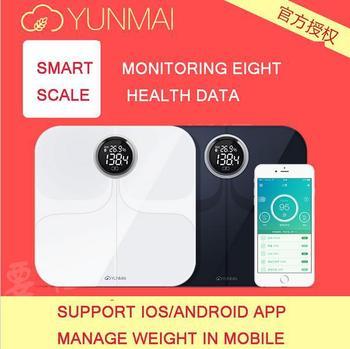 100XOriginal Yunmai scales fat percentage body fat scale Digitai Bathroom Scale Home health fat scales Accurate human scale