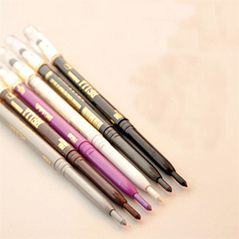 4 Color Sponge Eyeliner Pencil Cosmetic Makeup Pen Eyeshadow Glitter NEW - Lovely Person store