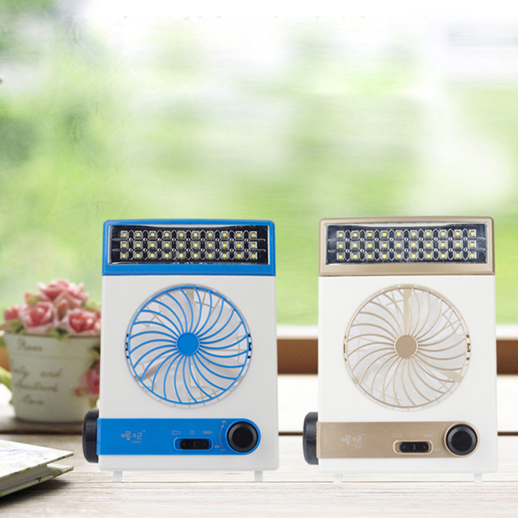 Ultra-practical Mini Solar Rechargeable Fan Multi-function LED Light Table Lamp Flashlight fast delivery(China (Mainland))