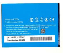 Baterias de Telefone Celular Recarregável de Telefone Grátis plus Código de Rastreamento ION para Elephone 1 PCS Substituição LI P3000 P3000s 3150 MAH Frete