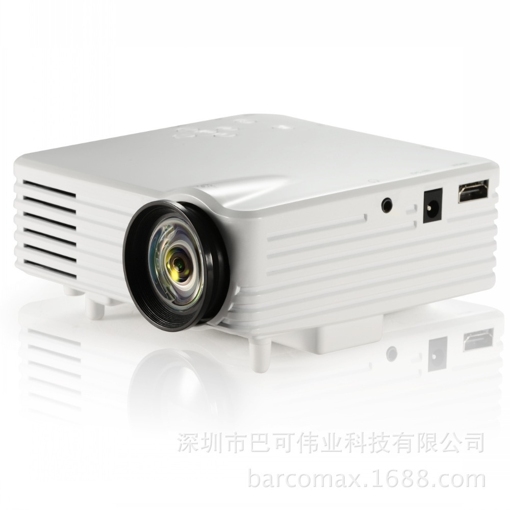 New barcomax mini mini projector gp7s handheld projector for Handheld projector best buy