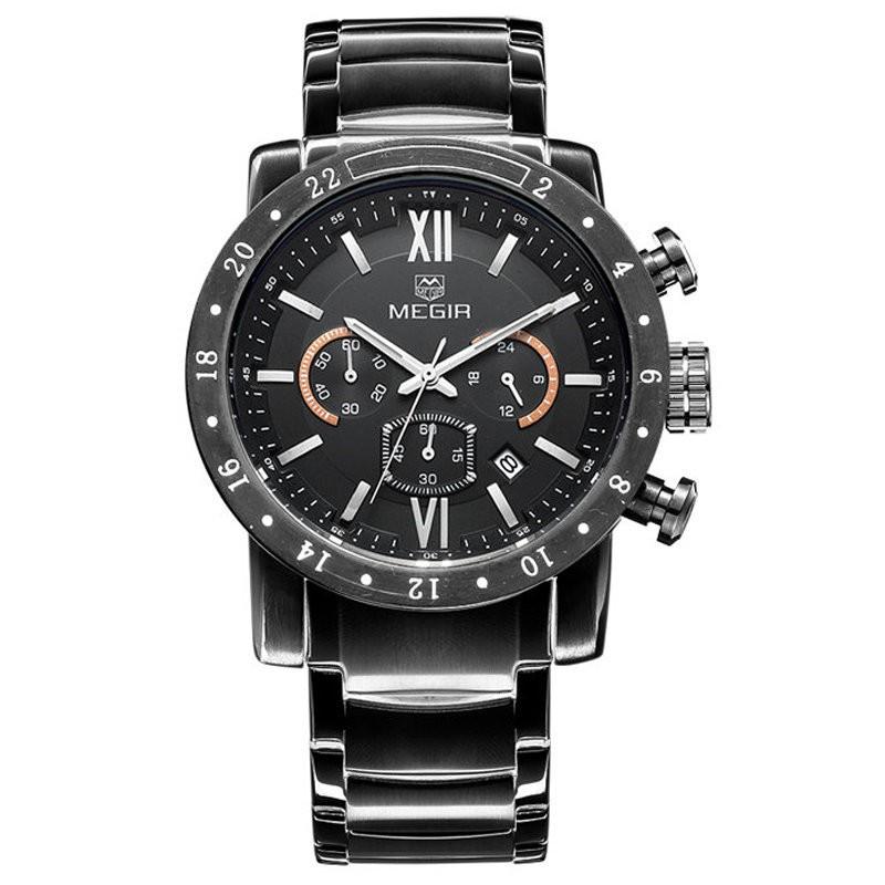 MEGIR M3008 6 Relogio mne watch megir megir 6 24 relogio sl 3008