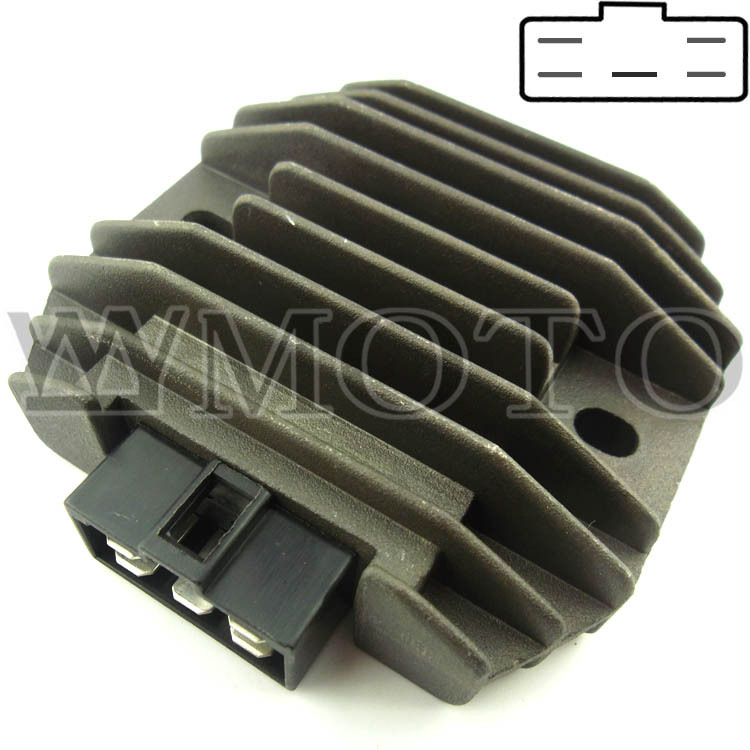 brand new Motorcycle Voltage Rectifier Regulator Fit YZF1000 R1 1998-2001 Free International Shipping - WYMOTO store