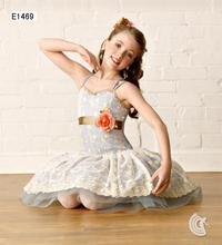 2016 Sale Direct Selling Knee-length Cotton Elsa Dress Vestidos Kids Free Shipping2011 Performance Wear Princess Dress E1469 Ch
