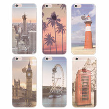 New York London Gig Ben Empire State Building Ferris Wheel Landscape Phone Case For Samsung Galaxy J5 A3 A5 S5 S6 S7 edge(China (Mainland))