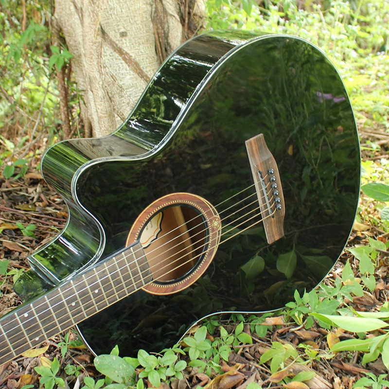 2016 NEW 40-33 guitars 40 inch Acoustic Guitar Rosewood Fingerboard guitarra Musical Instruments with guitar strings(China (Mainland))