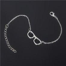 Moda kobiety bransoletka srebrny kolor koralik Charm bransoletka dla mężczyzn bransoletki łańcuch prezent NS210(China)