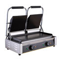 WanHe Electric Grill Griddle Sandwich Grill Teppanyaki Barbecue Griddler commercial electric contact double side heating Grill