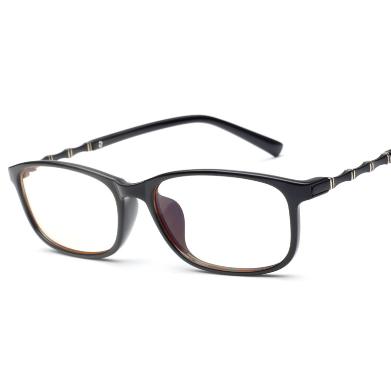TR 90 Light and Flexible Baboo Style Temple Anti Reflective Glasses for Computer Monitor(China (Mainland))