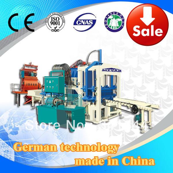 QT4-20 Full Automatic Hydraulic Building Block making Machine()