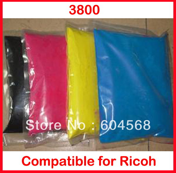 Фотография High quality color toner powder compatible Ricoh 3800  Free Shipping