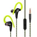 Fonge Stereo Sport Earphone Headphones handsfree In ear Headset 3 5mm With Mic Earbuds For All