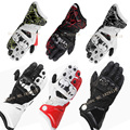 HOT Sale Brand New Alpine Genuine Leather Motorcycle gloves gp pro Full Finger Driving Motocross luva