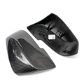 for bmw f30 replacement carbon fiber wing rearview door mirror covers 1 2 3 4 5