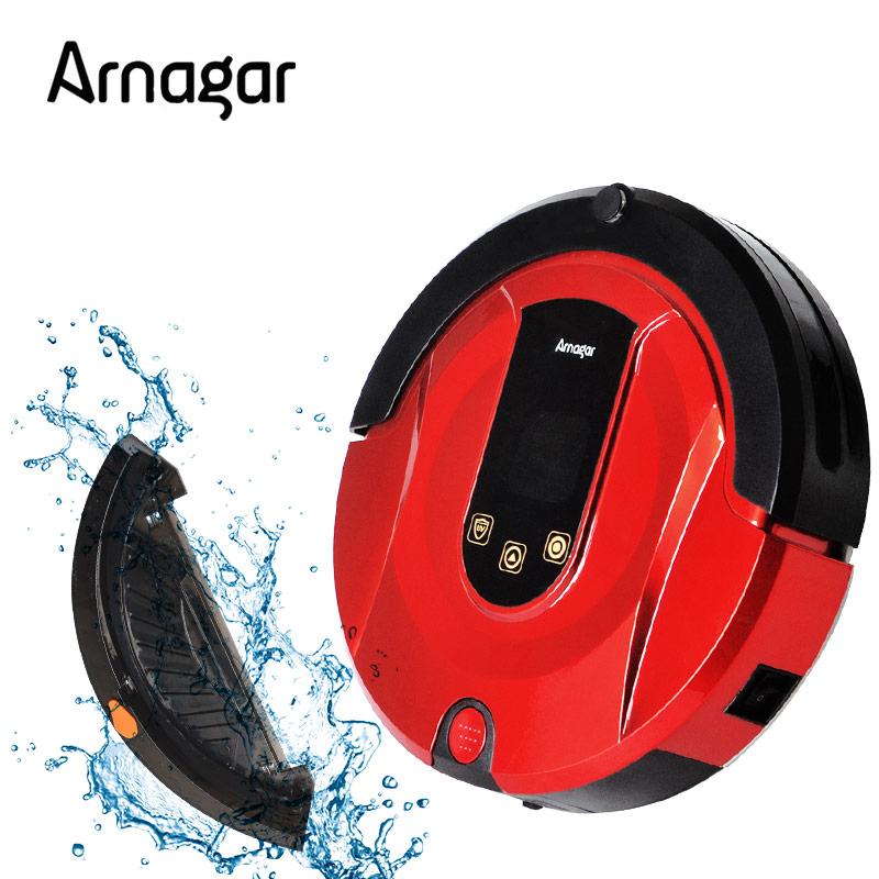 Arnagar Q1 Robot Vacuum Cleaner Wet&Dry Clean Mop 180ml Water Tank Vacuum Cleaner Auto-Charge Robot Aspirador Sweeping Robot(China (Mainland))