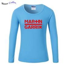 Ilkbahar Sonbahar Kadın T Shirt Moda Müzik DJ Martin Garrix kısa kollu t-shirt Pamuk Kız Elbise Kadın Baskı Tees En(China)