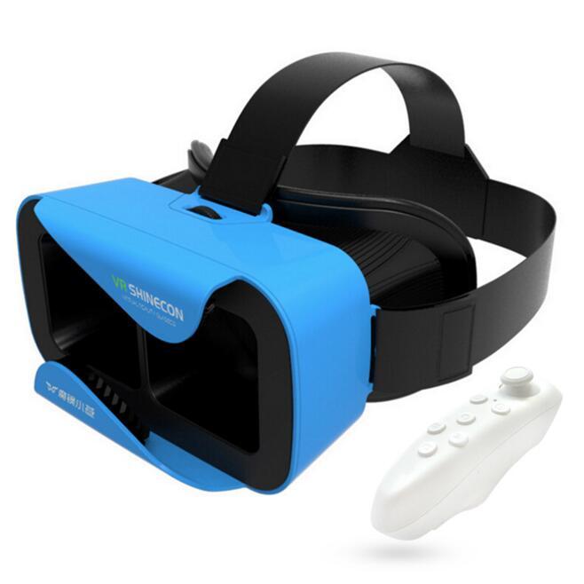 VR Shinecon MINI Virtual Reality Headset 3D Smart  GLasses For 4.7 ~ 6 inch Smar