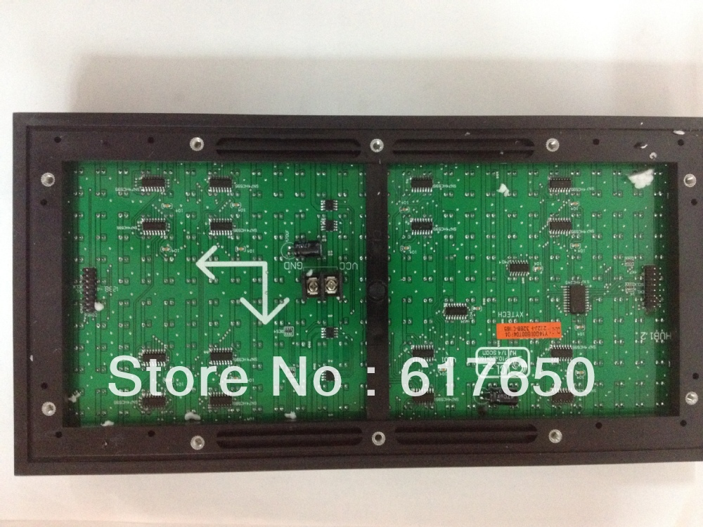 Fast Delivery by DHL! Semi-outdoor Advertising Unit P10 Module Led Display Outdoor(China (Mainland))