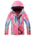 New women Ski Jackets waterproof breathable snow coat winter female outdoor sport warm skiing