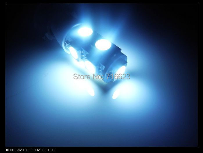 Лампа для чтения 100 x T10 W5W /194 9 5SMD SMD 5050 5050 SMD free shipping 2pcs lot t10 5 smd 5050 led canbus error free car lights w5w 194 5smd light bulbs no obc error white blue red