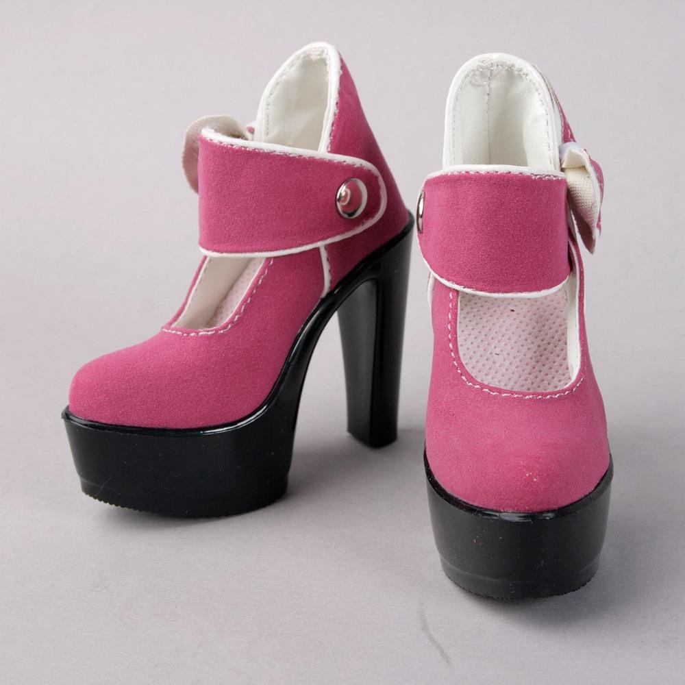 Dark Pink High Heels