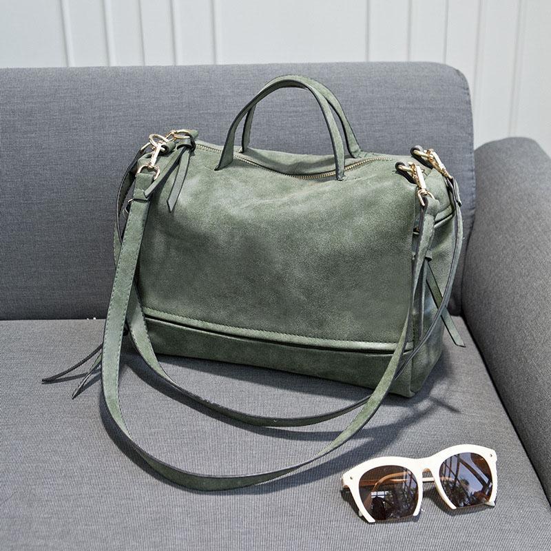 2016 New Women Cool Crossbody Bag Scrub Famous Band Designer Tote Shoulder Handbags Large Capacity Women's Handbag Bolsos Bags(China (Mainland))