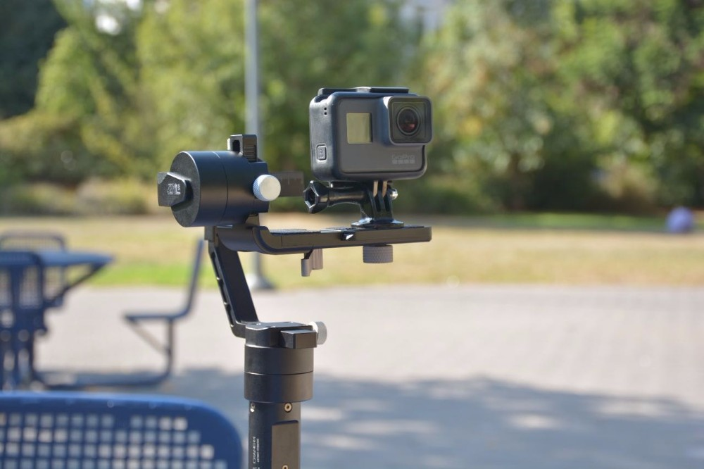Newest Zhiyun Crane M 3 axis Handheld Stabilizer Gimbal for DSLR Cameras Support 650g Smartphone Gopro 3 5 Xiaoyi Action camera