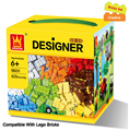625pcs lot Kids DIY Toys Educational Building Blocks Compatible With Lego Bricks Parts Boys Early Learning